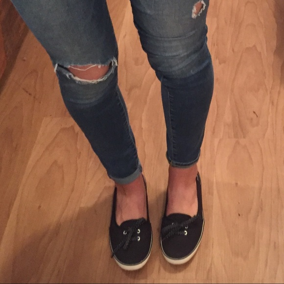 Keds Shoes | Black Teacup Keds Womens